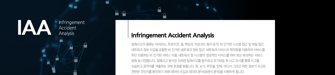 정보보안 침해사고 분석 및 모의해킹 실무자양성